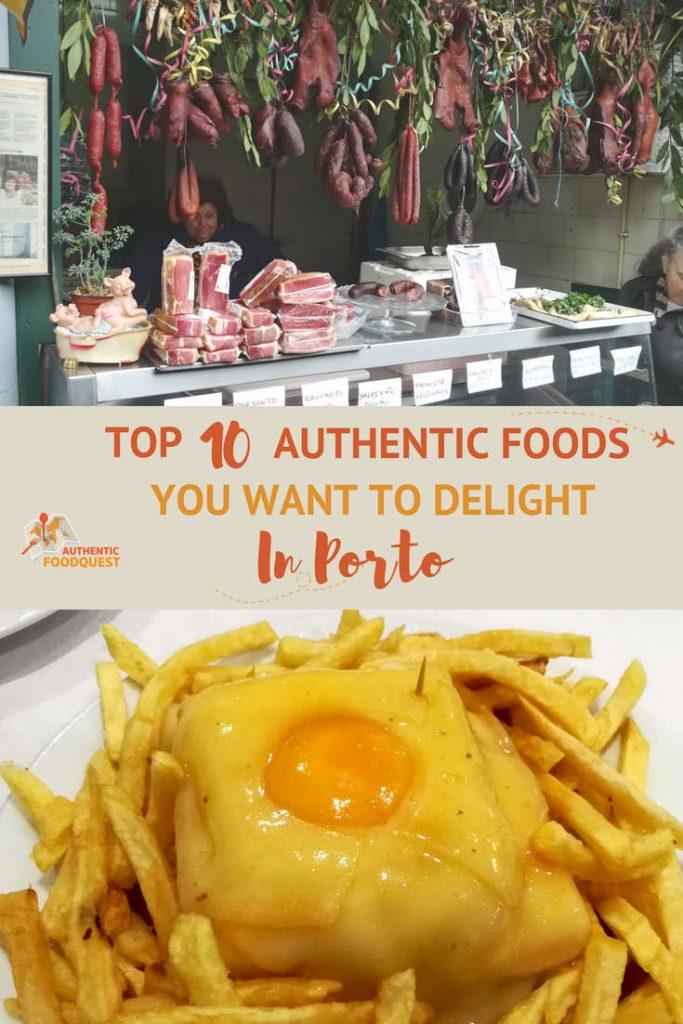 Pinterest Porto Foods Authentic Food Quest