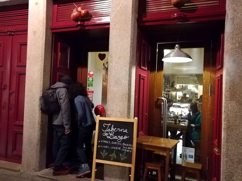 Taberna de Largo one of Porto best restaurant by Authentic Food Quest