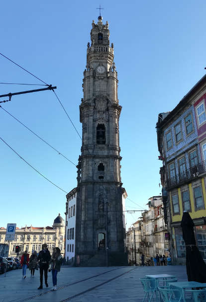 Torre dos Clérigos Porto Walking Tour Authentic Food Quest