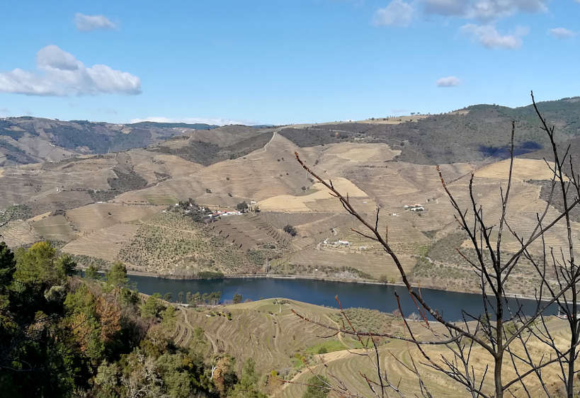 Douro Valley Tours on the way to Pinhao for Douro Valley wines by Authentic Food Quest
