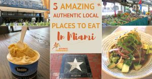 5 Amazing Authentic Local Places You Want to Eat in Miami