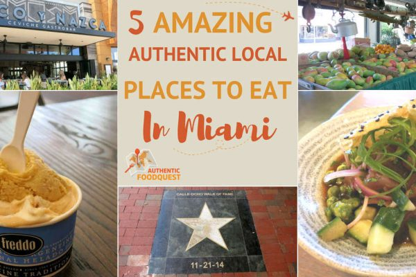5 Local Places to Eat in Miami Authentic Food Quest