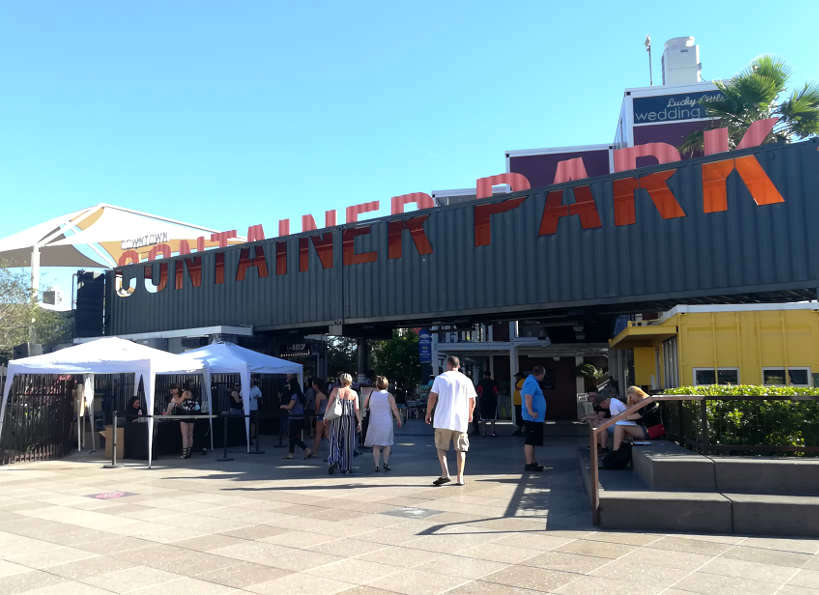 Container Park Downtown Las Vegas Food Tour by Authentic Food Quest