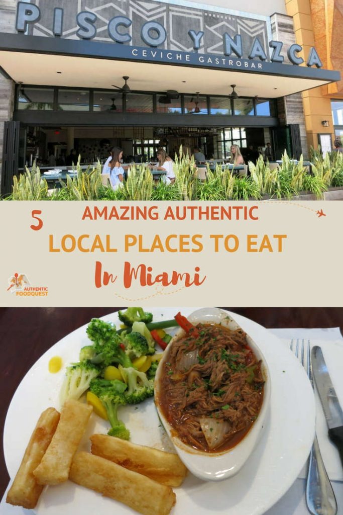 5 Local Places to Eat in Miami by Authentic Food Quest