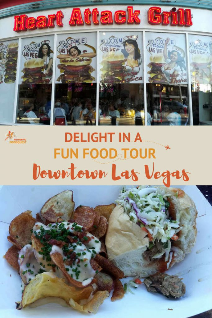 Pinterest Downtown Las Vegas Food Tour Authentic Food Quest