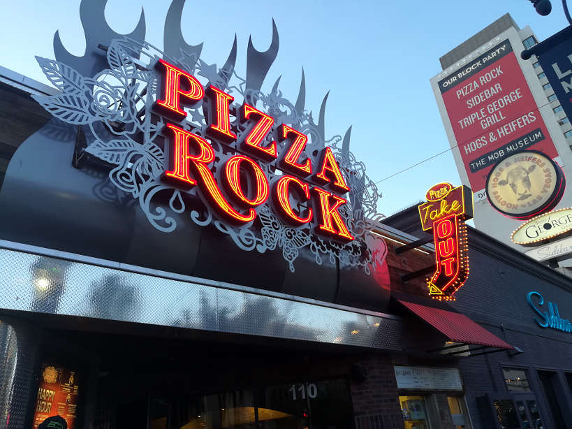 Pizza Rock Downtown Las Vegas Food Tour Authentic Food Quest