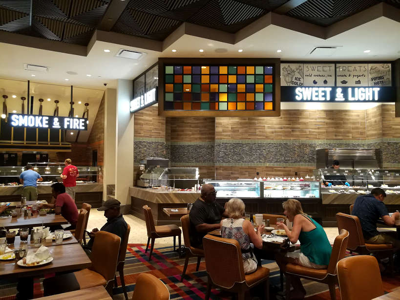 AYCE Buffet off strip value buffet Las Vegas Authentic Food Quest