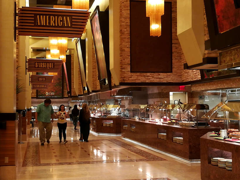 Feast Buffet off strip value buffet LasVegas Authentic Food Quest