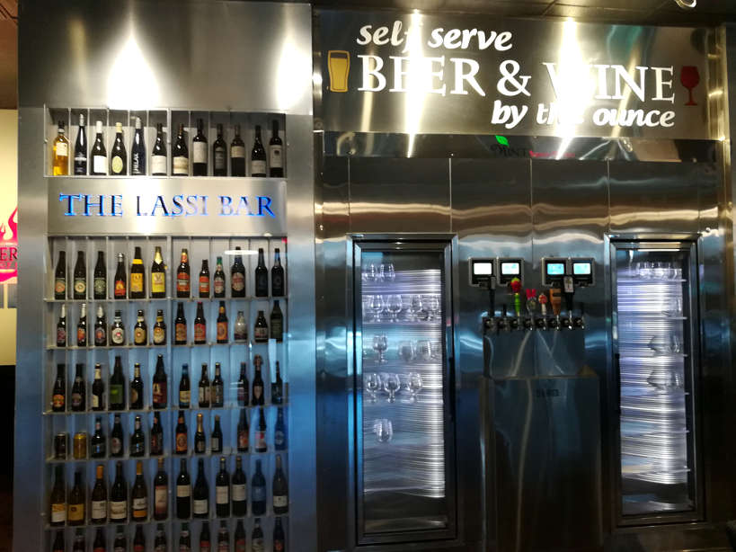 Self Serve Drinks off strip value buffet Las Vegas Authentic Food Quest