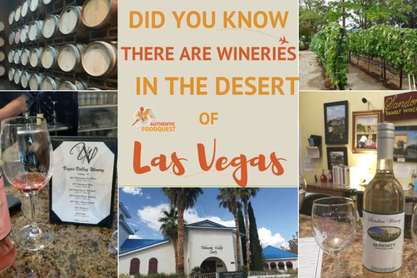 Las Vegas Winery Pahrump Winery Wineries near Las Vegas Authentic Food Quest
