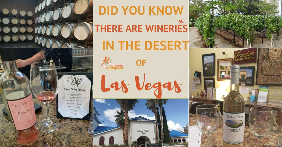Las Vegas Winery Pahrump Winery Wineries near Las Vegas Authentic Food Quest