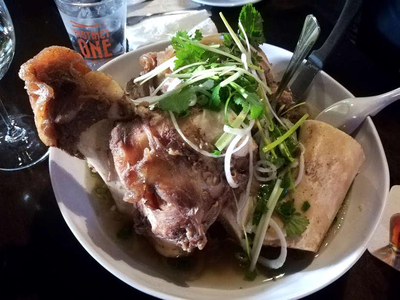 Bone Marrow Pho District One Best Vietnamese Best Asian Restaurants Las Vegas Authentic Food Quest