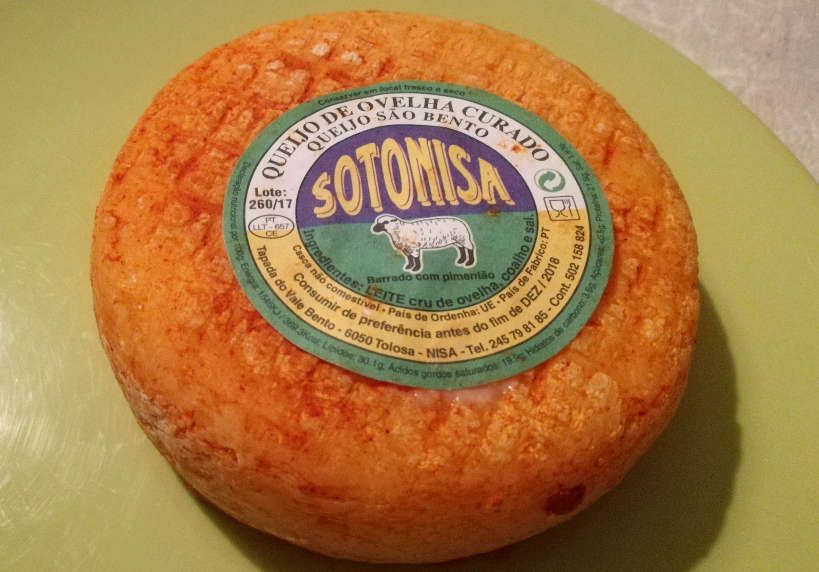 Alentejo Sheep Cheese Sotonisa Portuguese foods for Portuguese Dinner for Eating with Portuguese family by Authentic Food Quest