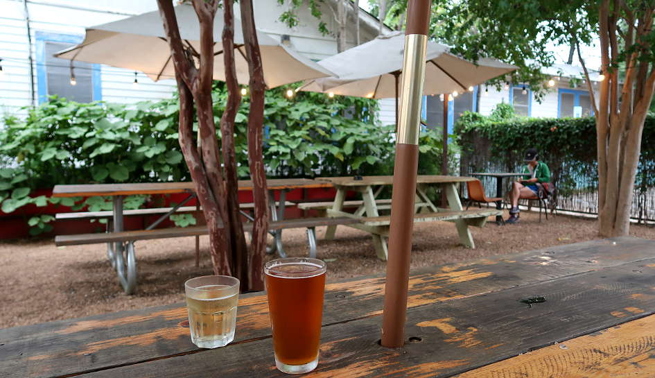 Cenote Outdoor seating for Best Breakfast Tacos in Austin by Authentic Food Quest