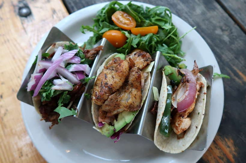 Cenote Tacos Plate for Best Breakfast Tacos in Austin by Authentic Food Quest