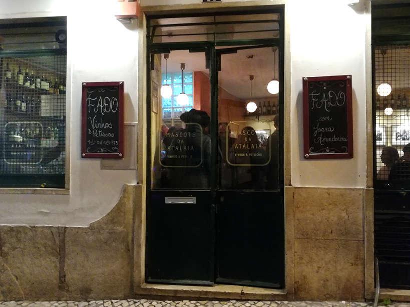 Mascote de Atalaia a fado restaurant in lisbon where locals eat traditional Lisbon food Authentic Food Quest