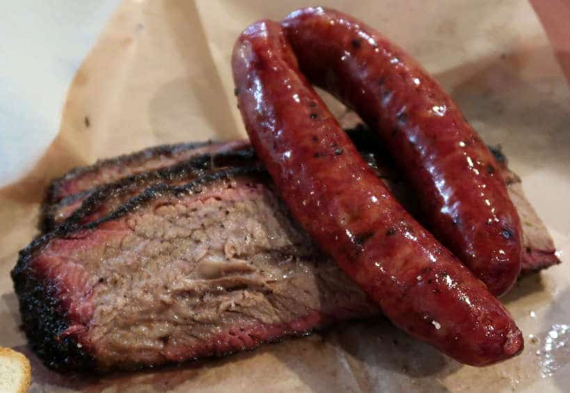 Franklin Barbecue Meats for Best Barbecue in Austin by Authentic Food Quest. The best Austin BBQ Guide.
