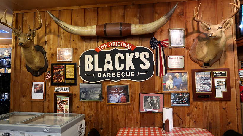 the Original Black's Best BBQ in Lockhart Authentic Food Quest