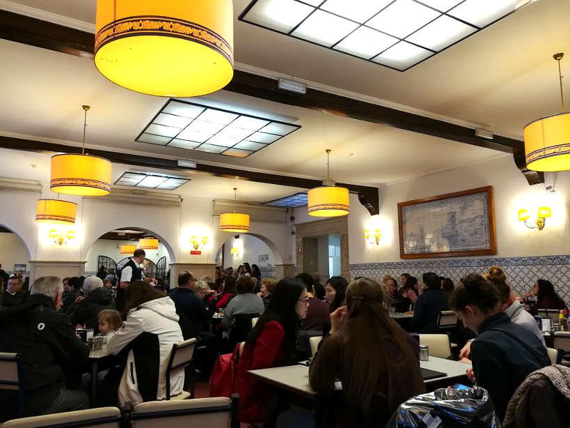 Pasteis de Belem Restaurant for Lisbon restaurants where locals eat amazing Lisbon food for Authentic Food Quest