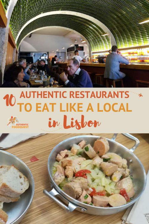 10 authentic Lisbon Restaurants where locals eat Lisbon Food Authentic Food Quest