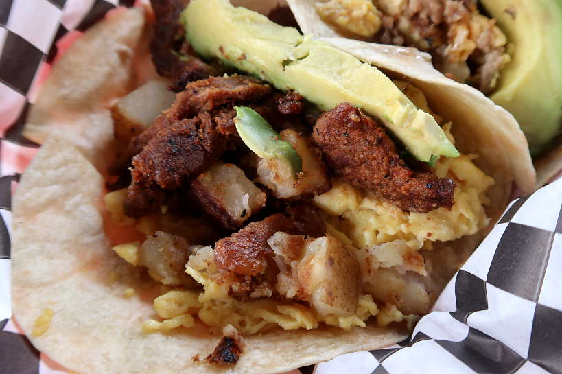 Tyson's Tacos Breakfast Tacos for Best Breakfast Tacos in North Austin by Authentic Food Quest. Also rated the best tacos in Austin