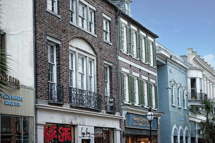 King Street in Charleston for Best Food in South Carolina by Authentic Food Quest. Find some of the best food in Charleston, South Carolina on this street.