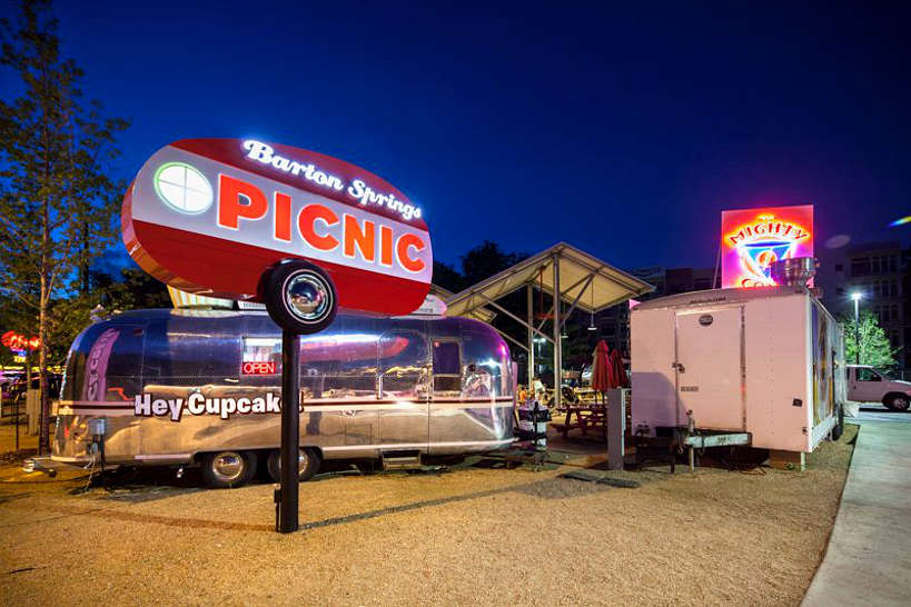 The Picnic at Barton Springs the first Austin Food Truck Park Authentic Food Quest