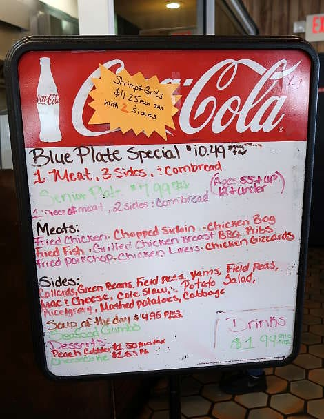 Blue Plate Specials at Big Mike's for Soul Food for Best Southern Comfort Foods by Authentic Food Quest
