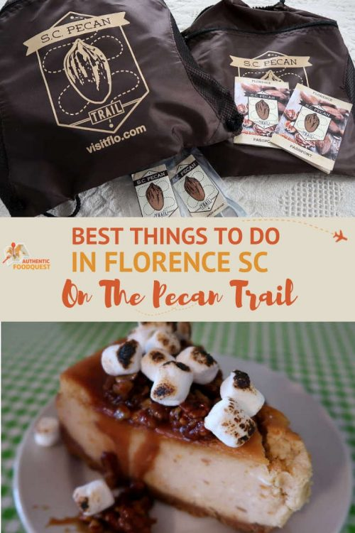 Pinterest Best Things to Do in Florence SC Pecan Trail by Authentic Food Quest