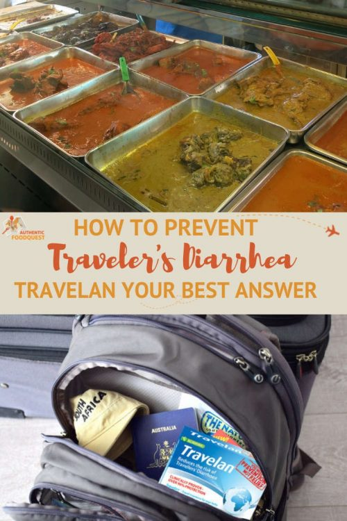 Pinterest Travelan Prevents Travelers Diarrhea by Authentic Food Quest