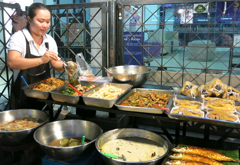 Street Food in Thailand with Travelan to Prevent Travelers Diarrhea by Authentic Food Quest
