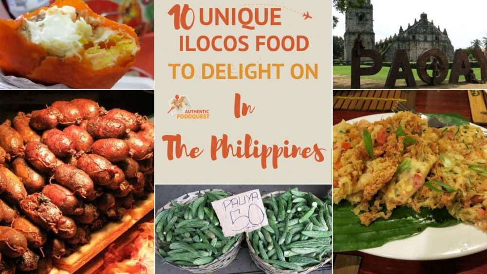 Best Ilocos Food, Ilocanos dishes and specialties with Authentic Food Quest