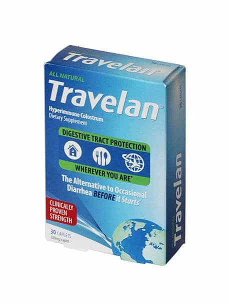 Travelan Package USA Prevent Travelers Diarrhea by Authentic Food Quest
