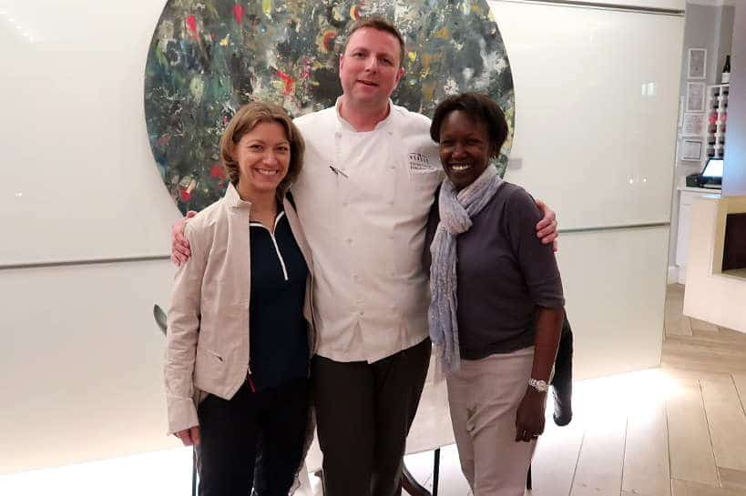 Chef Forrest Parker at Revival for Southern Cuisine by Authentic Food Quest. Defining Southern Cuisine with Chef Forrest Parker and Nathalie Dupree