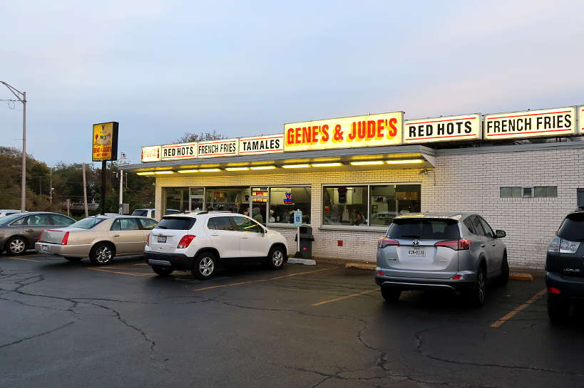 Gene and Judes Best Hot Dog Place in Chicago Authentic Food Quest