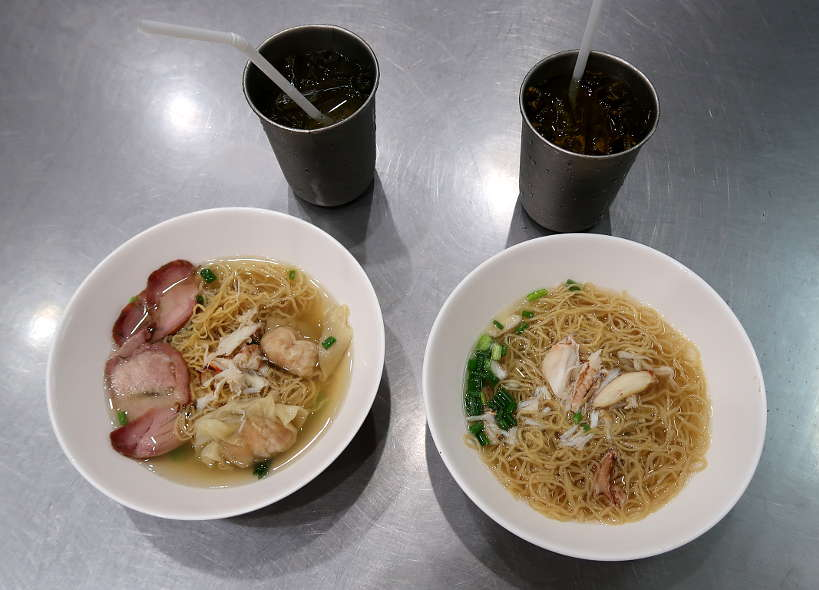 Odean Crab Noodle Soup Chinatown Bangkok Street Food Authentic Food Quest