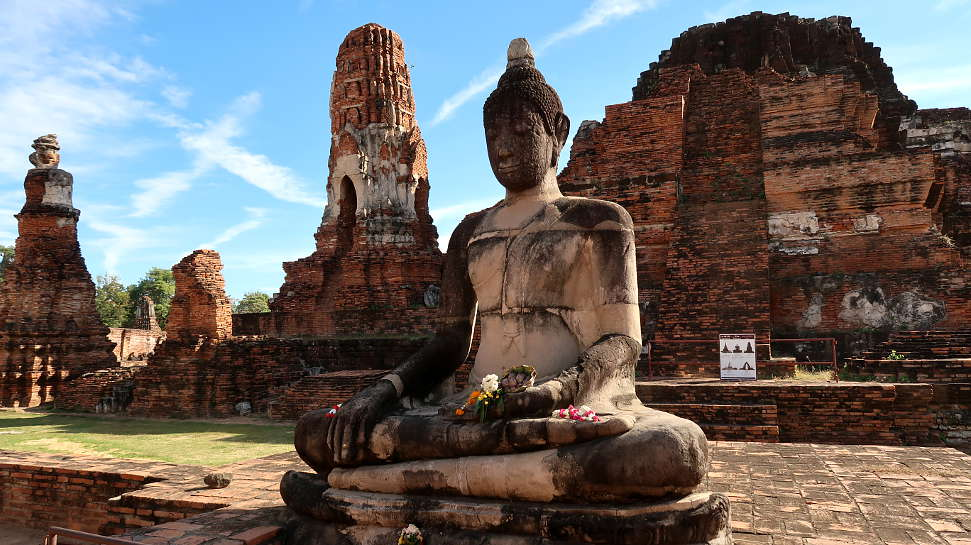 Wat Mahathat Visit to Ayutthaya Day Tour by Authentic Food Quest. An Ayutthaya day trip is a great way to see more of Thailand
