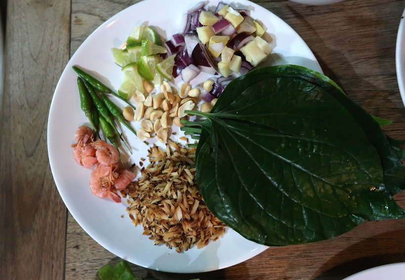 Betel Leaf Siri Wattana Market for Chiang Mai Food Tour A Chefs Tour by Authentic Food Quest