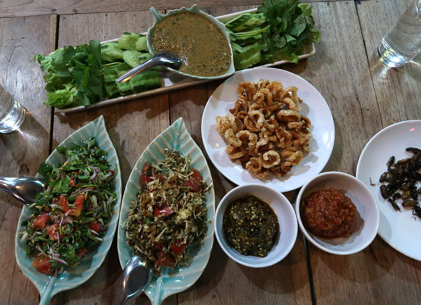 Burmese Cuisine at Chef Jed Restaurant for Tour Chiang Mai for Authentic Food Quest