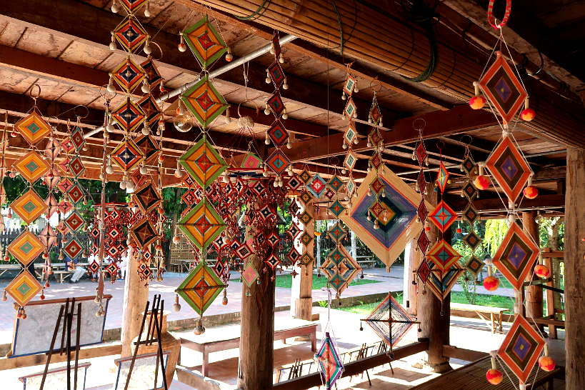 Dream Catcher Workshop at Heuan Chan Heritage House for things to do in Luang Prabang by Authentic Food Quest
