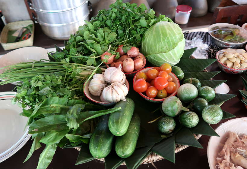 Ingredients for Luang Prabang Cooking Class by Authentic Food Quest