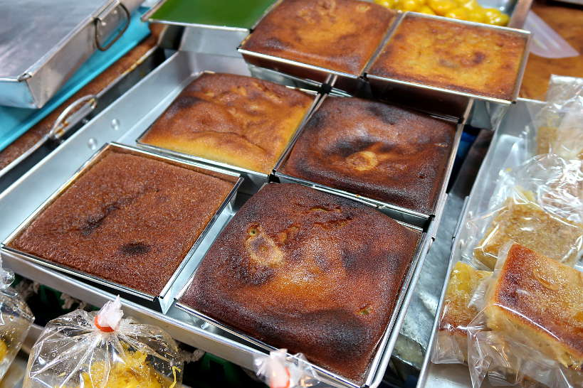 Mung Bean Cakes for Thailand Desserts by Authentic Food Quest. One of the most popular traditional Thai desserts