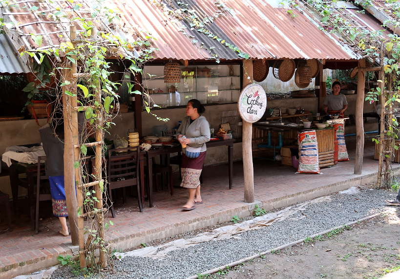 Open Air Cooking Class for Luang Prabang cooking class by Authentic Food Quest