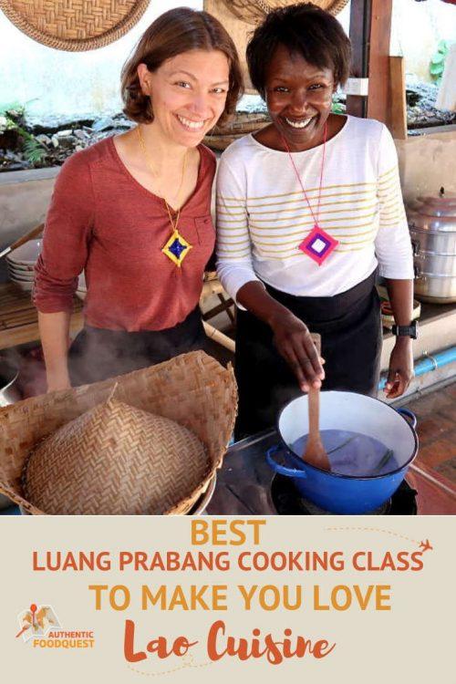 Luang Prabang Cooking Class Pinterest