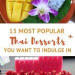 Popular Thai desserts by AuthenticFoodQuest