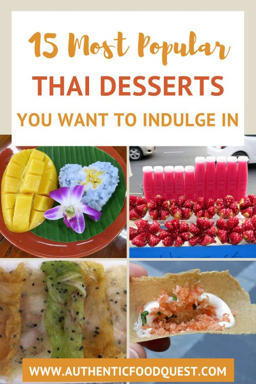 Pinterest Guide to Thai desserts by AuthenticFoodQuest
