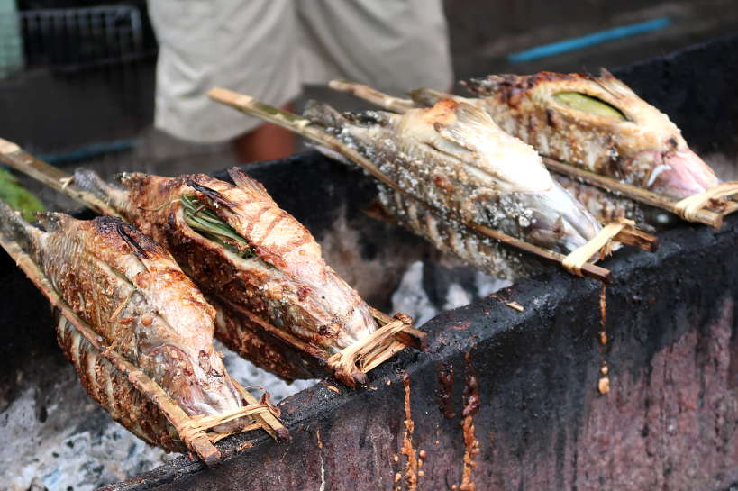 Grilled Fish for Laos Food by Authentic Food Quest