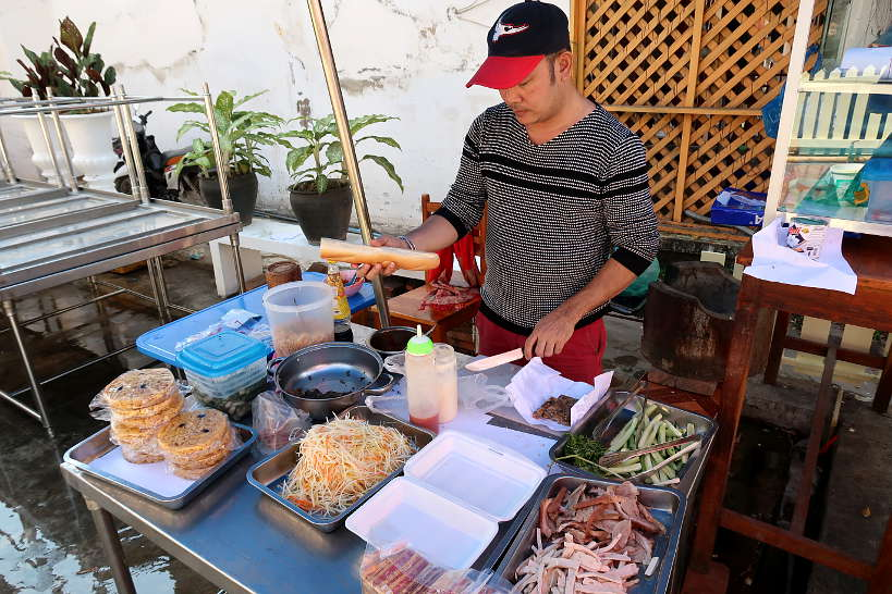 KhaoJee Sandwich Vendor Luang Prabang Street Food by Authentic Food Quest