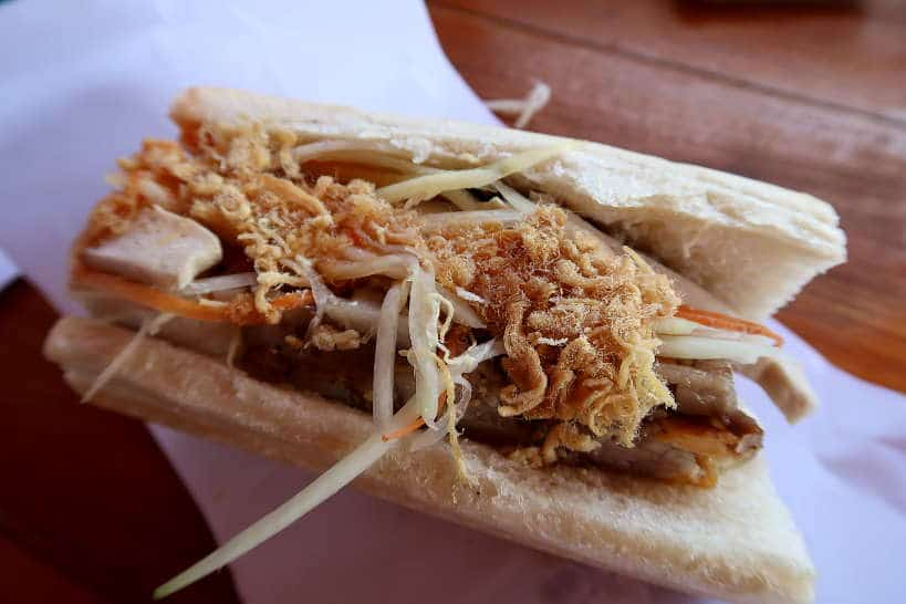 Khao Jee Sandwich for Laos Food by Authentic Food Quest