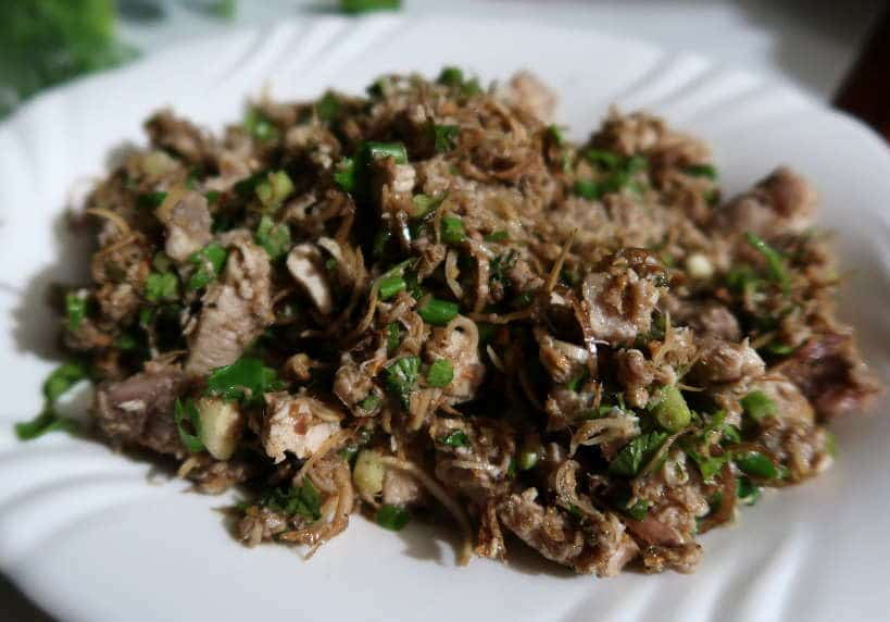 Laos Larb for Laos Food by Authentic Food Quest